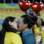 Rugby couple put respect in front and center in Olympics