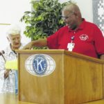 Kiwanis inducts officers, sets events