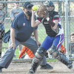 Lady Falcons prevail in weather-shortened game with Lady 'Cane