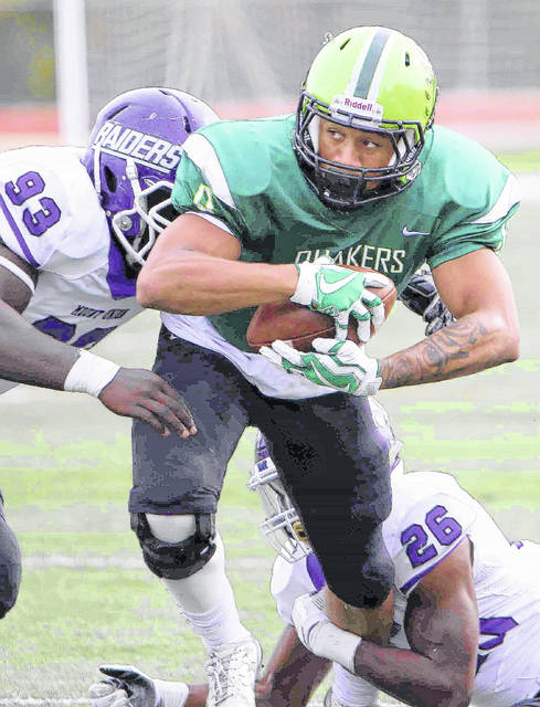 Ameer Jackson scored the only WC touchdown last week in a 66-7 loss to Mount Union. Jackson caught a 32-yard touchdown pass from quarterback Luke Creditt.