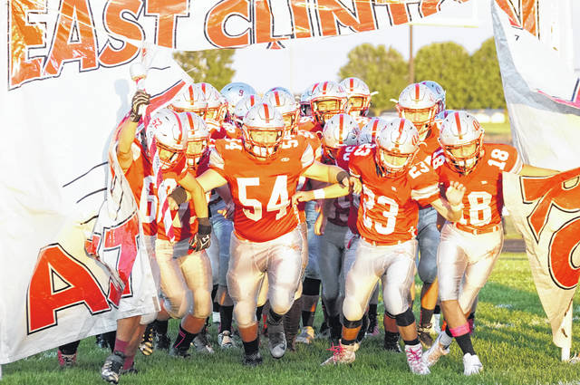 Can East Clinton burst Bethel-Tate's unbeaten bubble Friday night? Kickoff is set for 7 p.m. between the two 2-0 National Division teams.