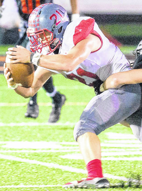 Goshen's Jimmy Strunk is one of the top running backs in the SBAAC.