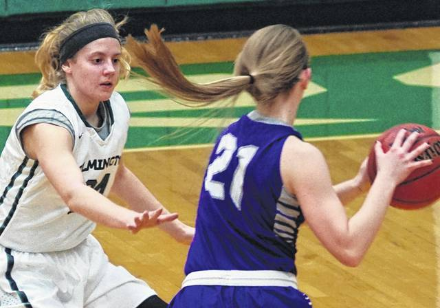 Wilmington College junior Mackenzie Campbell (left) has earned preseason All-American honors from DIII News