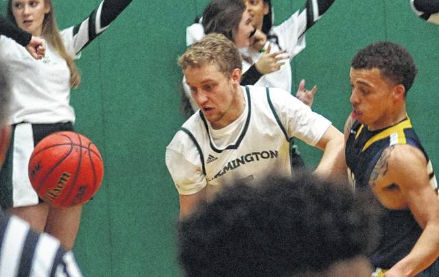 DJ Iles, a product of Fayetteville-Perry High School, is one of the top returning players for the 2017-18 Wilmington College men's basketball team.
