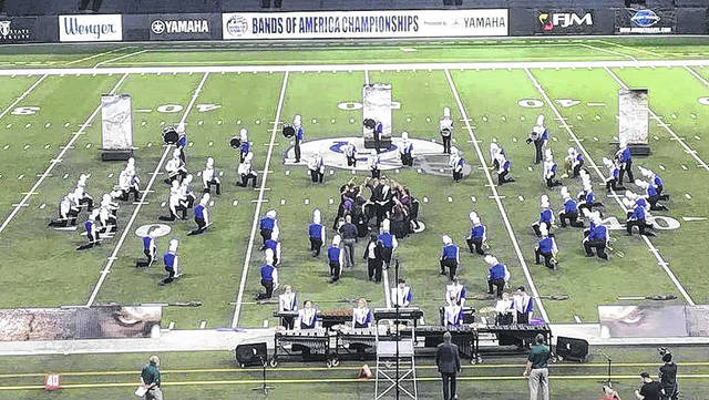 The Clinton-Massie Marching Band completed a successful season at several venues.