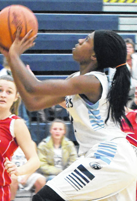 Asia Baldwin led Blanchester with seven points Wednesday night against Madeira in sectional tournament action at Wilmington's Fred Summers Court.
