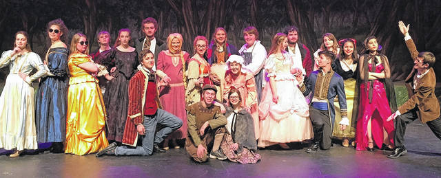 "Tickets are still available this weekend for Clinton-Massie High School's performances of ""Into the Woods."" Show times are Friday, March 23 at 7 p.m.; Saturday, March 24 at 7 p.m.; and Sunday, March 25 at 2 p.m. in the Clinton-Massie auditeria. Tickets are $10 for adults and $8 for students. The box office will be open one hour prior to show time. Doors open 30 minutes prior to show time."