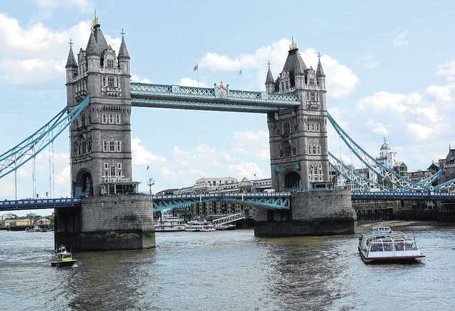 London's iconic Tower Bridge is among the historic sites you'll visit.