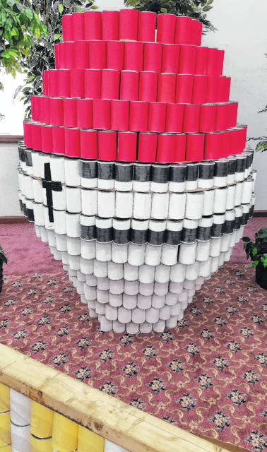 Wilmington Church of God CANstructed this entry for the Pokémon-themed 2016 contest.