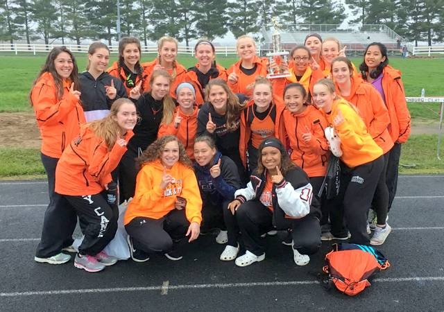 The Wilmington High School girls track and field team won the Brett Wightman Invitational Tuesday at East Clinton High School. The Lady Hurricane finished with 167 points. The next closest team had 94.5 points.