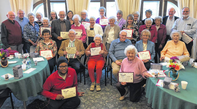 Ohio Living Cape May recognized many of its dedicated volunteers.