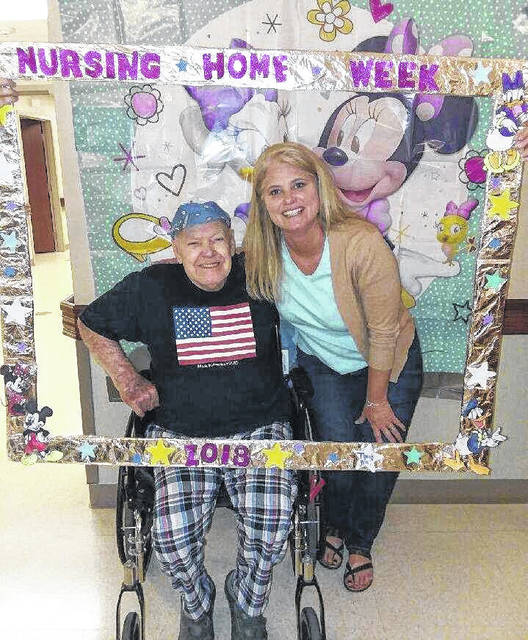 The Laurels of Blanchester kicked off Nursing Home Week with many themes and events. The events were held May 14 through 18. Nursing Home Week is celebrated annually at The Laurels of Blanchester with the community, staff, guests and their families. The Laurels of Blanchester would like to thank all who participated and volunteered their time. The photos show staff and guests enjoying Disney Day at the Laurels.