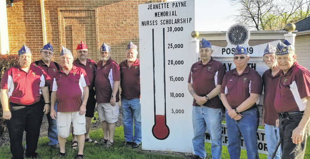 Clinton County veterans are reaching out to the community to reach the fundraising goal for nursing scholarships.
