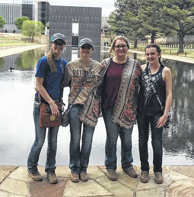 The Soil team fared well at a contest in Oklahoma. From left are Tabby Vance, Shelby Williams, Ashley Kinner and Holly Bernard.