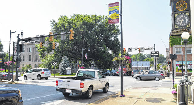 The busy crossroads of Clinton County — downtown Wilmington is going strong in 2018.
