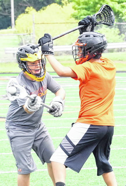 A youth lacrosse camp was held this week at Wilmington High School's Alumni Field. The camp was under the direction of Adam Shultz, the Hurricane lacrosse coach. The campers were put through individual and team drills in the morning camp.