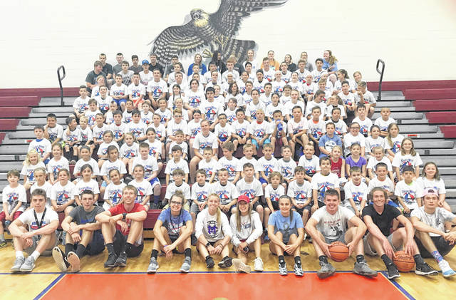 There were 120 campers who attended the Clinton-Massie youth basketball camp this week on Lebanon Road. The three-day boys and girls camps were for students entering grades 1-8. Clinton-Massie players and coaches were camp instructors.