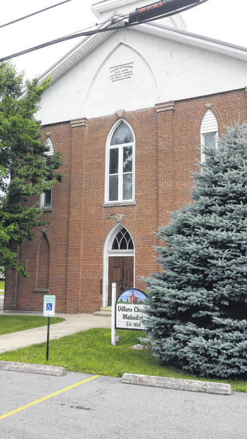 "Villars Chapel is ""A United Methodist Church seeking to love others, serve our community, give generously, and share our story."" Located at 3852 W. Ohio 350, the church was founded in 1868. For more information call 937-728-1810 or visit their Facebook page."