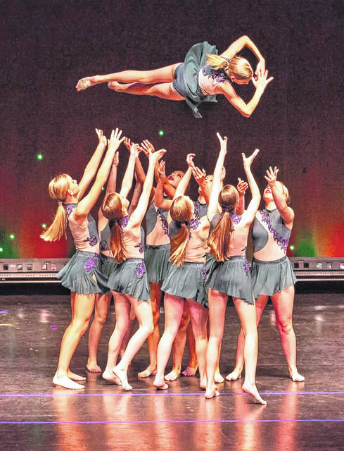 "Wilmington College senior Carley Wilson choreographs for the Springboro-based dance studio, ""All That Dance."" Troupe members will be performing the piece, ""What the World Needs Now,"" at an Aug. 6 Hiroshima/Nagasaki program."