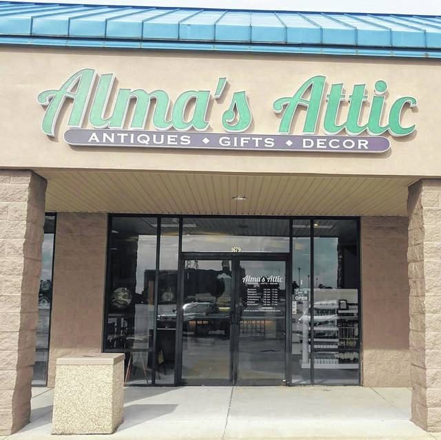 Alma's Attic is located on Rombach Avenue in Wilmington.