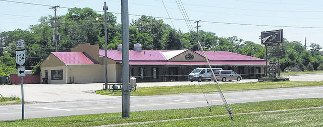 Brausch's Brewery is on the property occupied by the Blue Grass Restaurant in 1966.