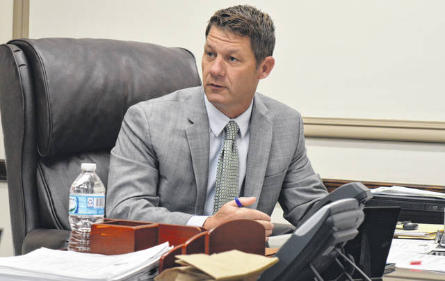 """Clinton County Commissioner Kerry R. Steed says there now is """"a firm date in sight"""" for a BOE move to the Annex Building on Wilmington's west end."""