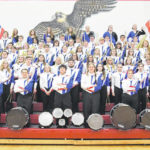 Clinton-Massie marching band: The Sun, The Moons and The Stars