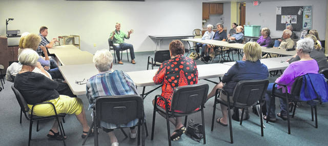 Ohio 15th Congressional District candidate Democrat Rick Neal spoke with locals about issues they're concerned with Saturday during Neal's Listening Tour at the Wilmington Public Library.