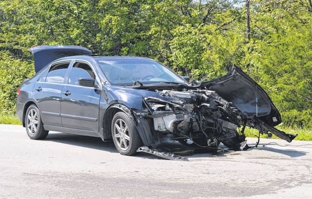 The Clinton-Warren Joint Fire District responded around 2:30 p.m. Thursday to a three-vehicle crash involving two SUVs and a sedan at the intersection of US 22/Ohio 3 and Clarksville Road near the Clinton-Warren counties line. The sedan and black SUV had heavy front-end damage. At least one person, who was conscious and alert, was transported via ambulance. No other information was immediately available.