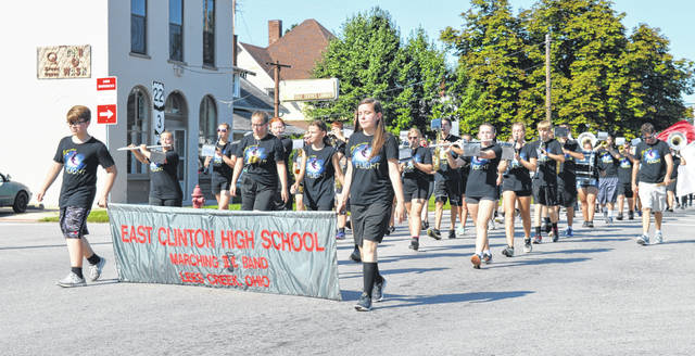 The Village of Sabina held its traditional Labor Day Parade Monday morning, featuring everything from the East Clinton High School band to youth football players and cheerleaders to an array of tractors and vehicles. The parade was followed by events including fundraiser meals, an auction, and music in the park. For more photos, visit wnewsj.com.