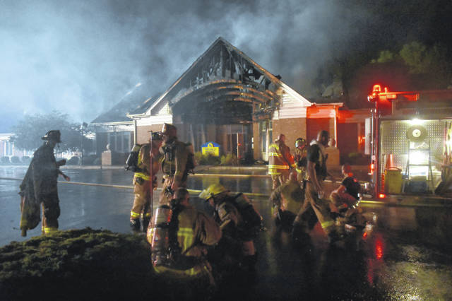 Wilmington firefighters and other emergency personnel were on the scene Tuesday night at the fire at Bennett Realty on West Locust Street in Wilmington. Fire investigators were at the scene on Wednesday morning. On Thursday night Marsha Bennett told the News Journal that there was a burglar alarm drop that included a broken window, followed shortly after by a fire alarm drop. The News Journal will update this story as more information becomes available.