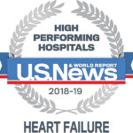 CMH recognized by U.S. News & World Report as 'High Performing Hospital in Heart Failure'