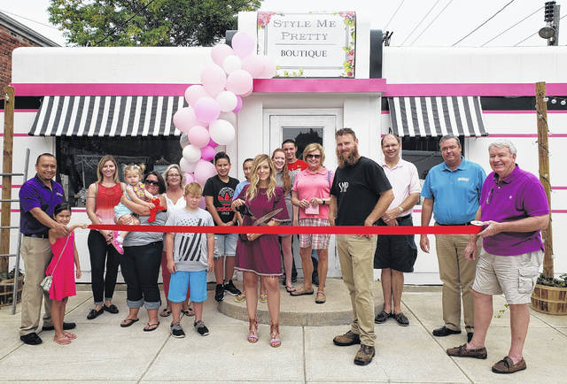 "The News Journal Advertising staff congratulates Style Me Pretty Boutique, which celebrated their grand opening on Saturday, Aug. 25, with an open house and ribbon-cutting. Style Me Pretty has re-purposed the old ""Little Giant Diner"" at 123 N. South St. in Wilmington into a small clothing and home goods boutique. They also host parties on their patio in the evenings or weekends for small groups. They feature clothing, gifts, small home goods, and furniture pieces. Style Me Pretty is open on Tuesday-Friday from 10:30 a.m.-6 p.m. and Saturday from 10:30 a.m.-3 p.m. Follow them on Facebook to keep up-to-date with new inventory at facebook@stylemeprettyfashion."