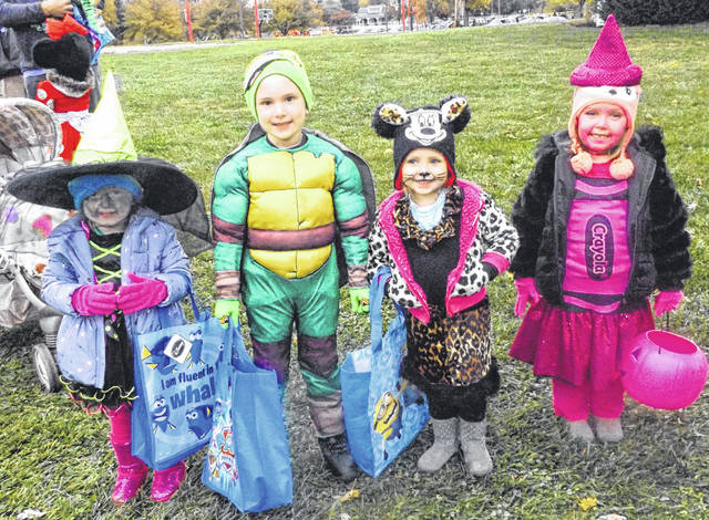 Last year's Wilmington Parks & Rec's Trunk or Treat event brought out a cast of characters both cute and scary.