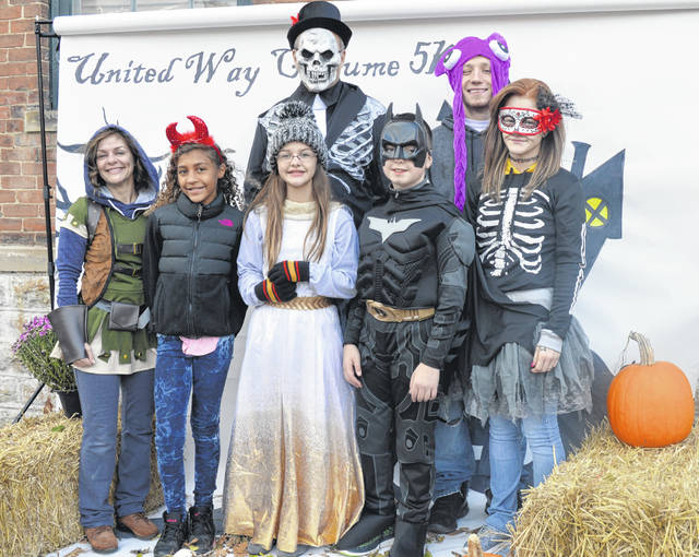 The United Way welcomed many frightening (and not so frightening) looking runners and walkers Saturday afternoon for the annual Costume 5K in downtown Wilmington.