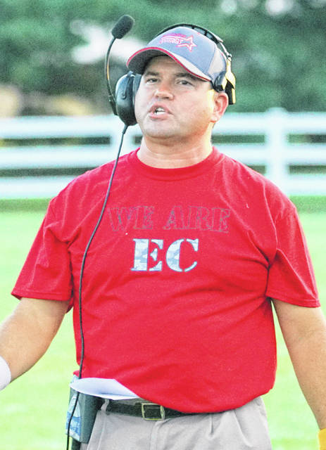 Jeremy Yankey resigned as head coach of the East Clinton football team Friday afternoon prior to the Astros game at Bethel-Tate.