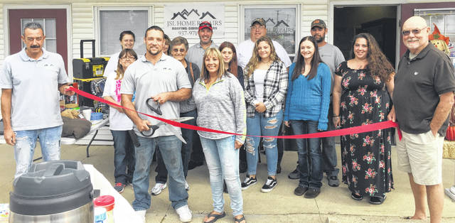 "The Wilmington News Journal Advertising staff congratulates the JSL Home Repair team at 712 S. South St. in Wilmington, which held its grand opening on Saturday, Sept. 22. Nita Lambcke, business partner with owner Jacob Lambert, said, ""With a team of almost 40 individuals in sales, roofing, siding, and gutter installation, the family-based business is ready to serve"", adding that their favorite part of this career ""is helping homeowners get the desired look for their home."" Formerly known as Midwest Restorations, Lambert changed the name to reflect a broader focus in the business, which offers no-cost, no-obligation quotes, and is a member of the Wilmington-Clinton County Chamber of Commerce and the BBB."