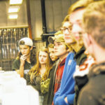 WHS students visit packaging plant