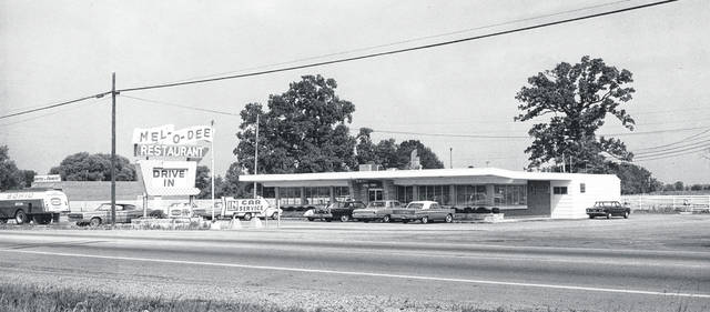 This photo from sometime around the mid-1960s is of the Mel-O-Dee Drive-In Restaurant; we're told it was where Frisch's is currently located on Rombach Avenue. Note the Sohio gas truck and the UDF store on the left. Can you tell us any stories about the Mel-O-Dee? And car enthusiasts, take a crack at identifying the ones in this photo. Share your info with us at info@wnewsj.com.