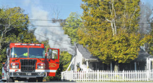Residential grease fire goes out of control