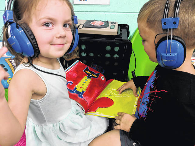 The Wilmington Schools Foundation's Grant Program enhances learning by providing everything from visual goggles for all students to purchasing items for a listening center for preschoolers to a performance by the Children's Theatre of Cincinnati.