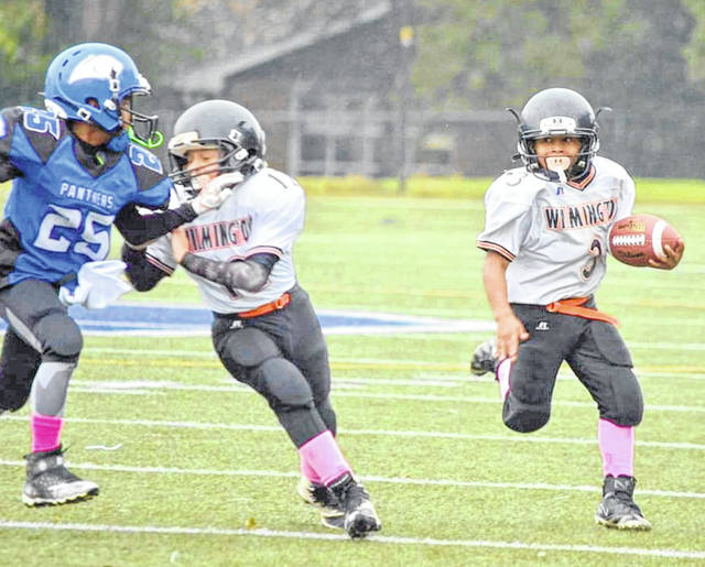 Wilmington Hurricane Youth Football Program has two teams in this week's Western Ohio Junior Football Conference playoffs at Wayne High School in Huber Heights.
