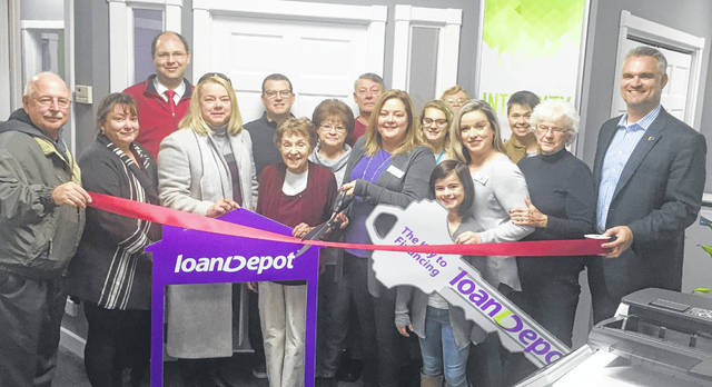 "The Wilmington News Journal advertising staff congratulates loanDepot, as on Thursday Loan Consultant Peggy Hickey and Loan Specialist Erica Barrett welcomed friends, family, colleagues, and satisfied customers to their new location at 120 Fairway Drive in Wilmington. Dessie Rogers, Executive Director of the Wilmington-Clinton County Chamber of Commerce, was on hand for the ribbon-cutting, which marked the end of an almost 9-month process for the business. ""I started with loanDepot on March 30 in a temporary location,"" Hickey said. ""While we just moved into this space in September, I have been in the mortgage business for 26 years."" The Wilmington branch is open 9 a.m. to 5 p.m., Monday through Friday."
