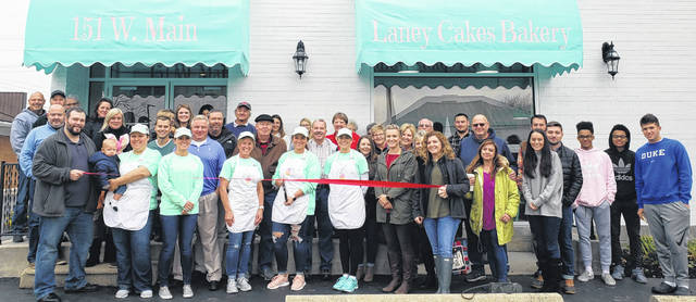 "The News Journal advertising staff congratulates Laney Cakes Bakery, which recently held its ribbon-cutting at 151 W. Main St., Wilmington. With cookies, cupcakes, cinnamon rolls, donuts, and more, the bakery is a sweet addition to the downtown business community. ""I loved the idea of having a storefront downtown so that people can walk to my store,"" said Laney Roberts. ""I am so excited to get to meet new people while doing what I love every day."" The bakery is open Thursdays and Fridays from 11 a.m. to 6 p.m. and Saturdays from 9 a.m. to 1 p.m. The weekend hours are a good balance for Laney's special order and walk-in business."