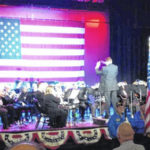 Brass band tribute to veterans