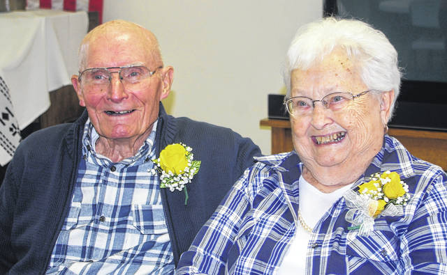 Kenneth and Ruth Hill have been married 70 years.