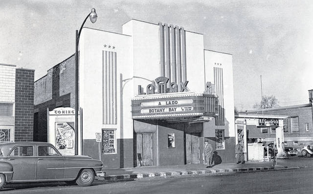 The Lamax Theatre in Wilmington was built in 1912 and torn down for parking for the Albers store in 1953, the year this photo was taken. Its last show was Nov. 11, 1953. We thank the readers who contacted us to tell us that last week's photo was of an implement auction at the Clinton County Fairgrounds.