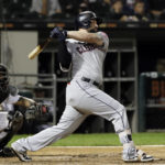 White Sox acquire 1B Alonso in trade with Indians