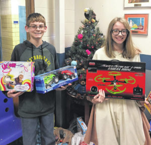 Blan NJHS collects 290 toys for kids
