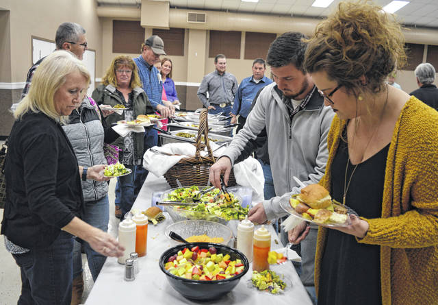 The Clinton County Agricultural Society (Senior Fair Board) held its annual Christmas dinner Monday evening in Expo Hall on the Clinton County Fairgrounds in Wilmington.